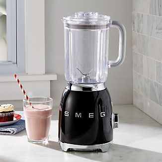 Smeg Black Retro Blender