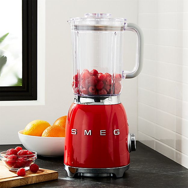 SMEG Red Retro Blender + Reviews