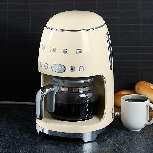 Smeg Cream Drip Coffee Maker Reviews Crate And Barrel