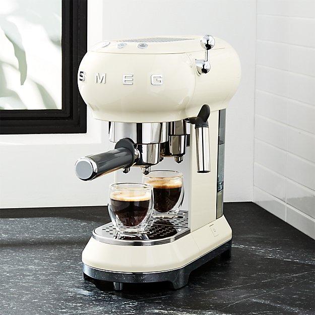 Smeg Cream Espresso Maker