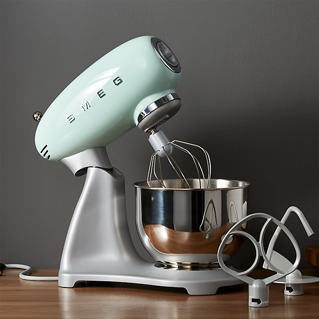 Smeg Pastel Green Retro Stand Mixer Crate And Barrel