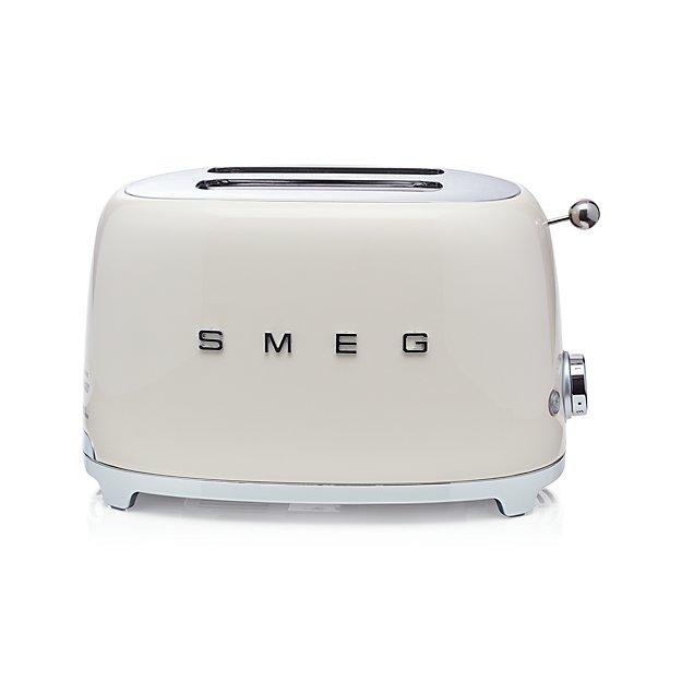Cream Toaster Ovens ~ Smeg cream slice retro toaster in toasters