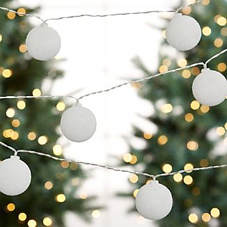 Snowball String Lights