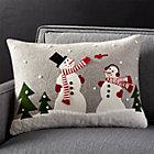 SnowmanFriendsPillow22x15SHF17