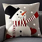SnowmanPillow23x23SHF17