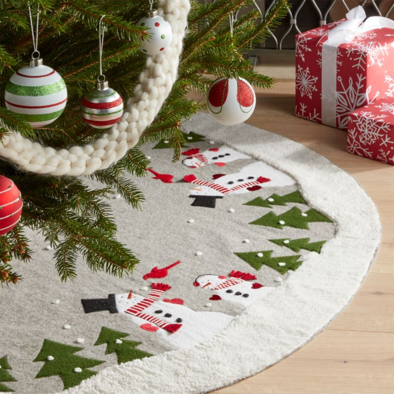 christmas tree skirts and collars - Christmas Tree Skirts
