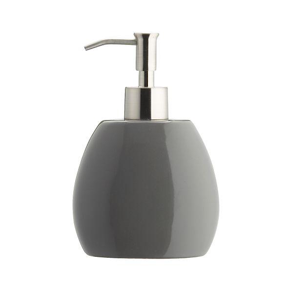 Grey Soap Dispenser