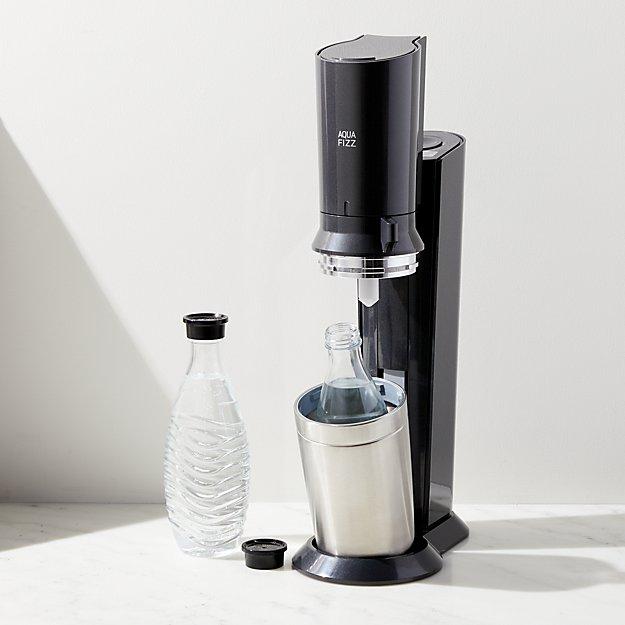b819e49f31c SodaStream Aqua Fizz Sparkling Water Maker + Reviews | Crate and Barrel