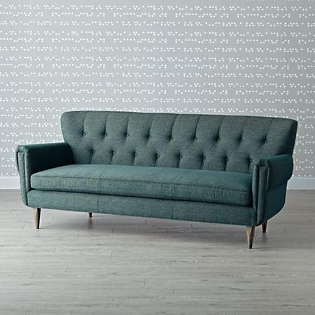 Mid-Century Chesterfield Sofa