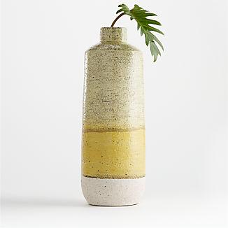 Sol Yellow Ceramic Vase