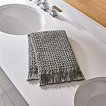 Sola Grey Guest Towel