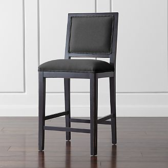 Sonata Bruno Black Counter Stool & Bar Stools and Counter Stools | Crate and Barrel islam-shia.org