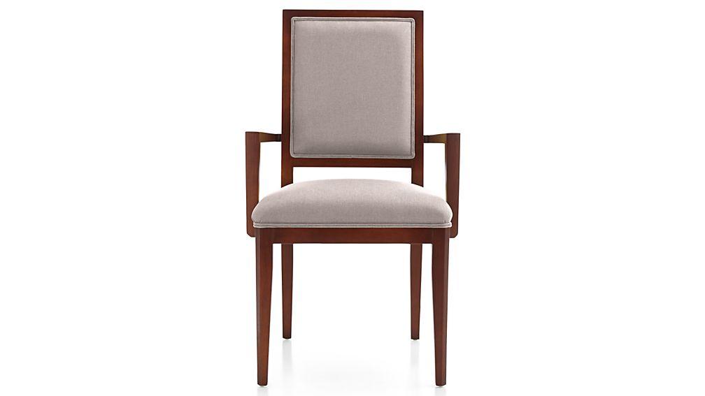 Sonata Aretina Walnut Dining Arm Chair