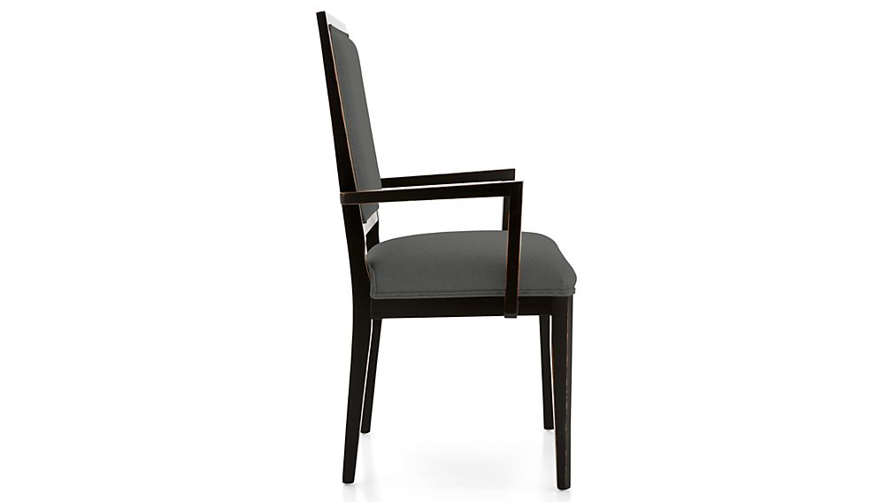 Sonata Bruno Black Dining Arm Chair