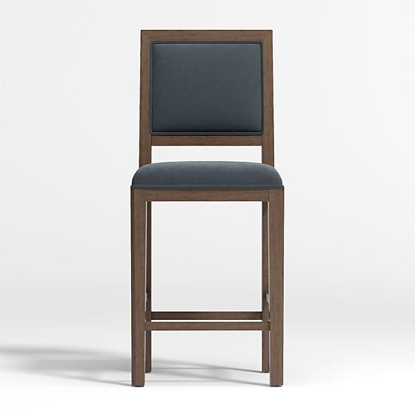 Magnificent Sonata Velvet Handpainted Counter Stool Pdpeps Interior Chair Design Pdpepsorg