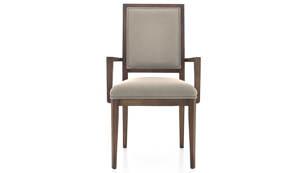 Sonata Pinot Lancaster Grey Dining Arm Chair