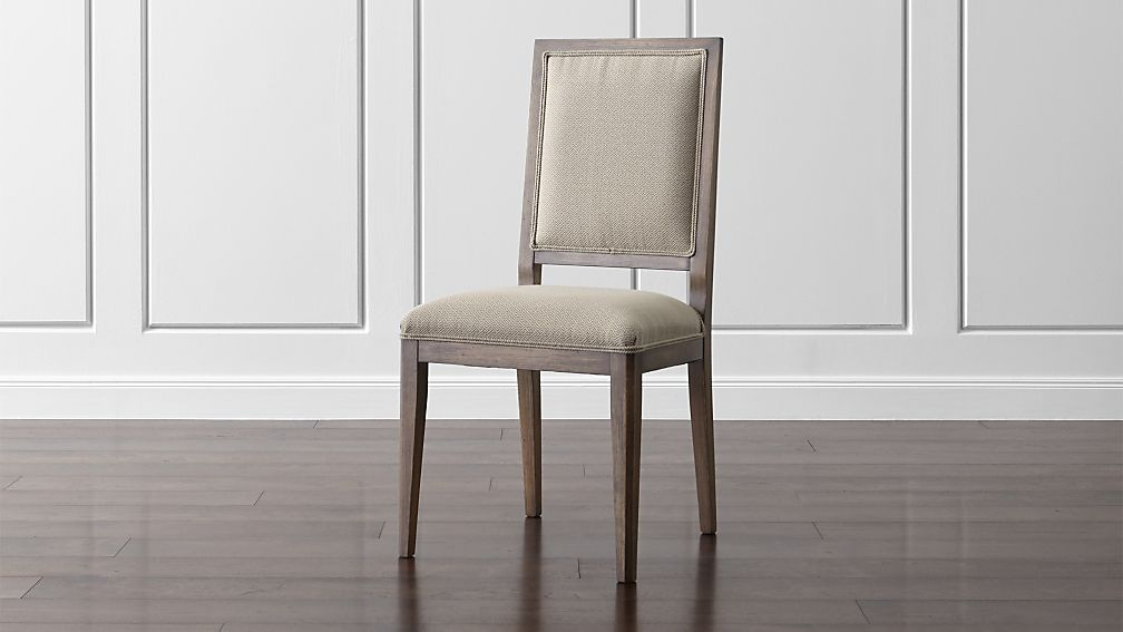Sonata Pinot Lancaster Grey Dining Side Chair ...