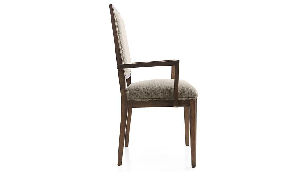 Sonata Pinot Lancaster Grey Dining Arm Chair