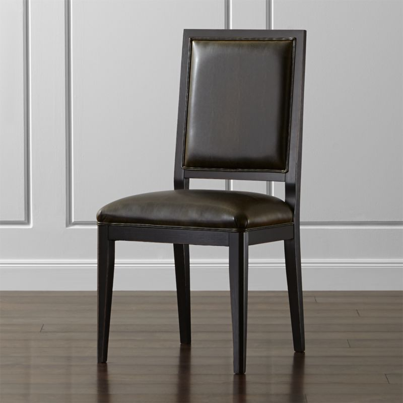 Sonata Dining Chair Crate And Barrel - Crate and barrel leather dining chair