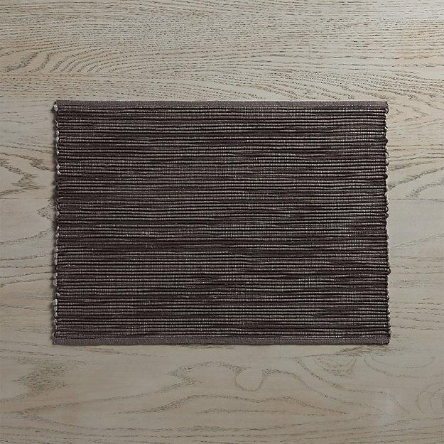 sonoma grey placemat crate and barrel. Black Bedroom Furniture Sets. Home Design Ideas