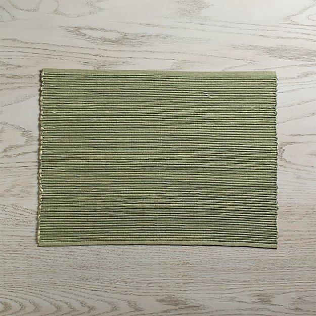 Sonoma Sage Green Placemat - Image 1 of 3