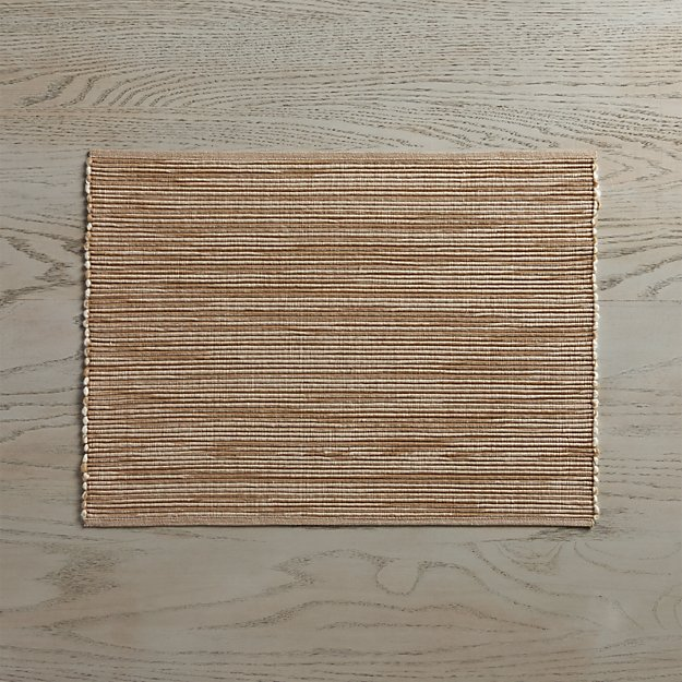 Sonoma Sand Placemat - Image 1 of 3