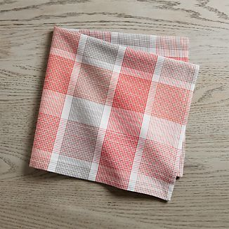 Sorbet Plaid Dinner Napkin