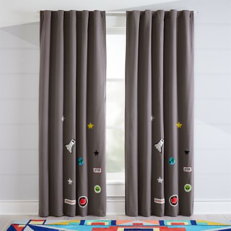 E Blackout Curtains Crate And Barrel