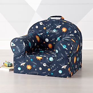 Large Space Nod Chair & Personalized Toddler Chairs | Crate and Barrel