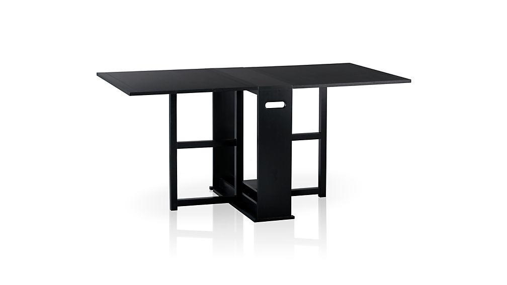 Span Black Gateleg Dining Table