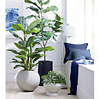 View product image Sphere Light Gray Planters - image 3 of 8