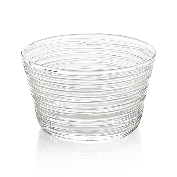 """Spin 5"""" Glass Serving Bowl"""