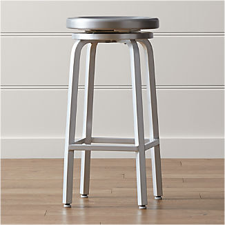 Metal Bar Stools Crate And Barrel
