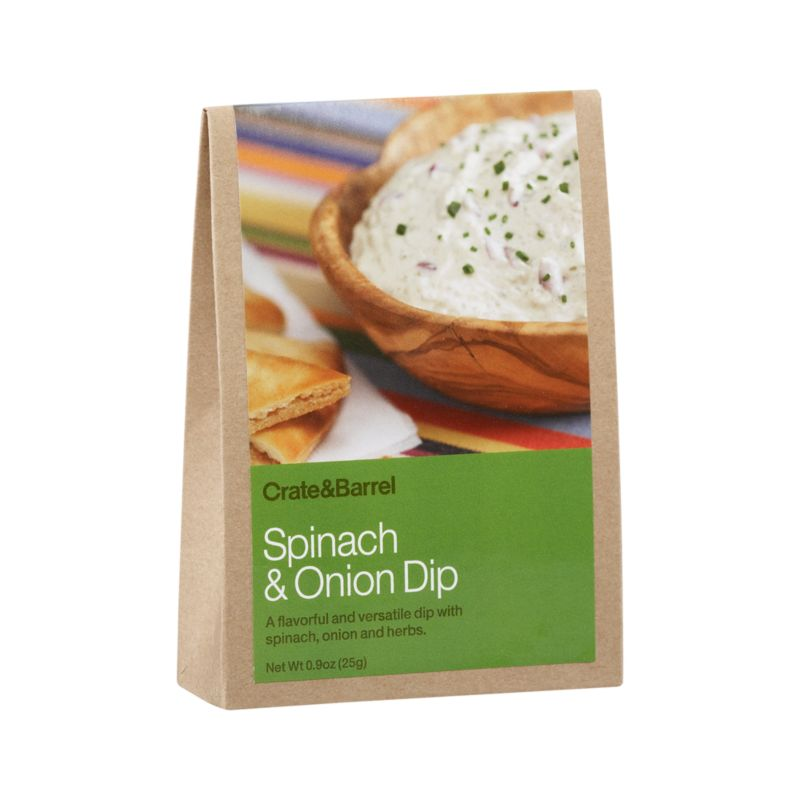 A delicious dip for easy entertaining with chips, breads, crackers or veggies. This timeless favorite needs no cooking. Some additional ingredients required.<br /><br /><NEWTAG/><ul><li>Contains minced onion, sea salt, ground white pepper, granulated brown sugar, granulated garlic, dried spinach, parsley, hydrolyzed vegetable protein, chives, soybean oil, dried leeks and shallots</li><li>Produced in a facility that processes nuts</li><li>Made in USA</li></ul>