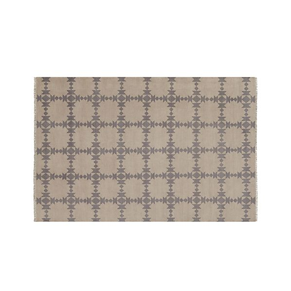Spindle Dove 6'x9' Rug