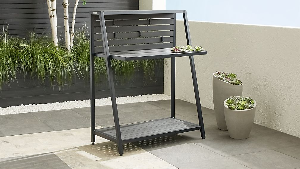 Alfresco Grey Work Station