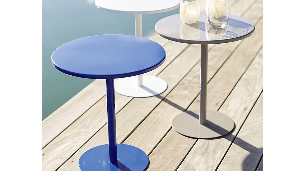 Spot Mediterranean Blue Side Table