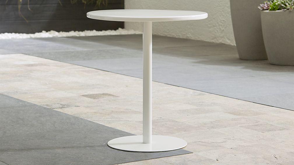 Lovely Spot White Side Table ...