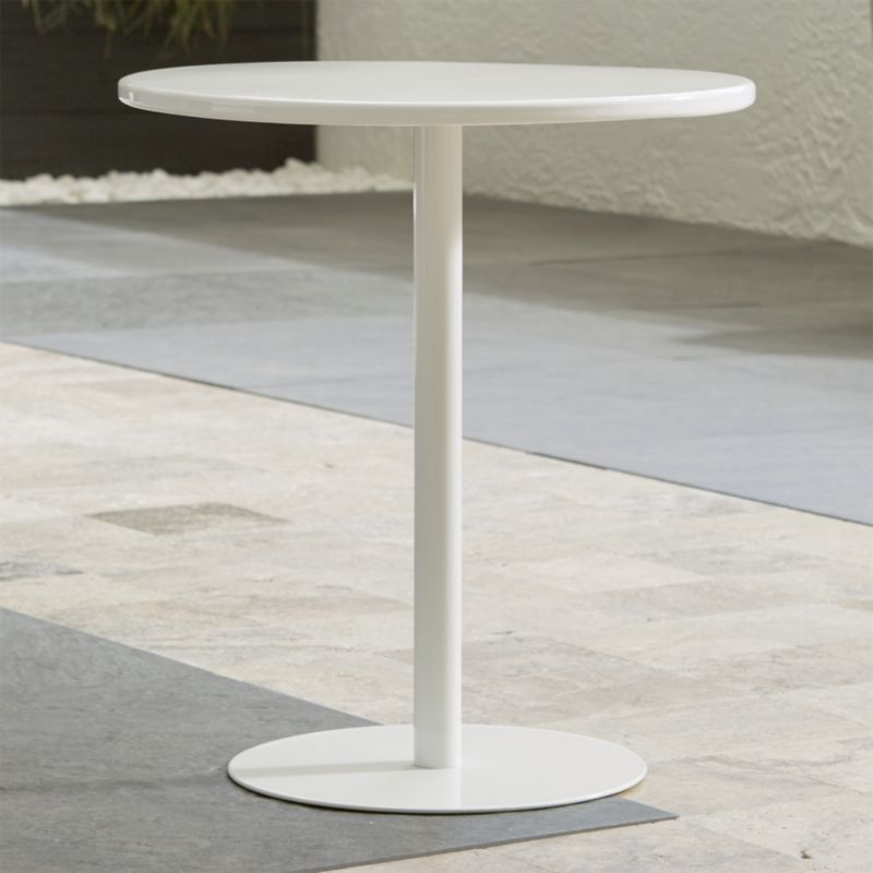 pin it spot white side table metal furniture