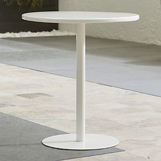 Spot White Side Table