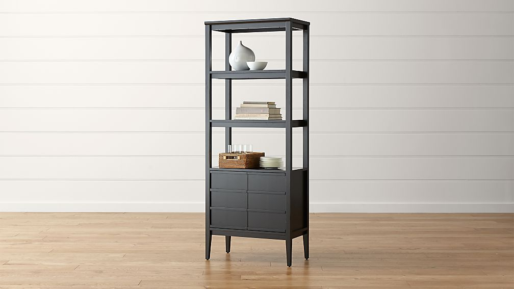 Spotlight Ebony Bookcase - Image 1 of 9