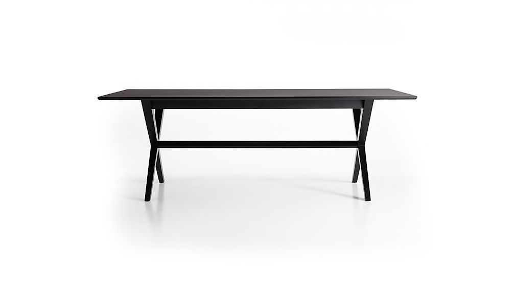 Spotlight Ebony Dining Table