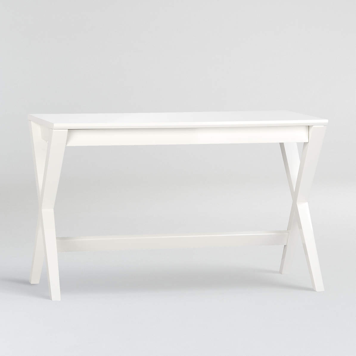 Spotlight White 48 Writing Desk Reviews Crate And Barrel Canada