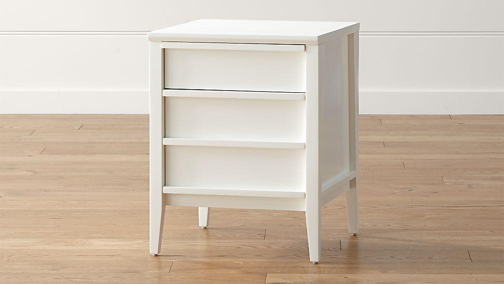 Spotlight White Filing Cabinet - Image 1 of 5