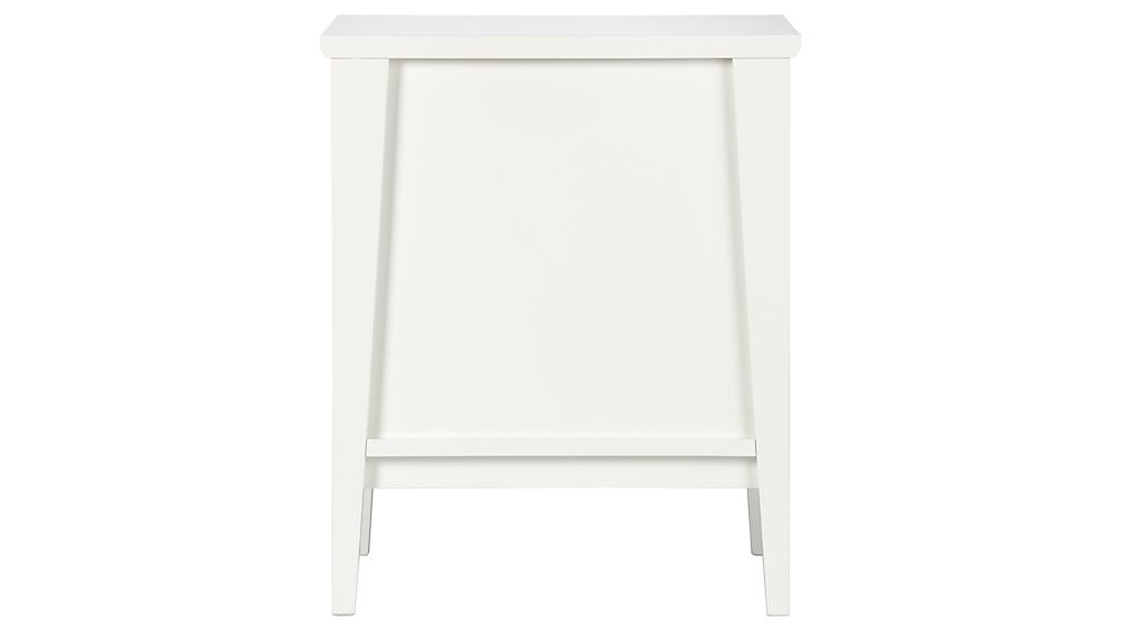 Spotlight White Filing Cabinet