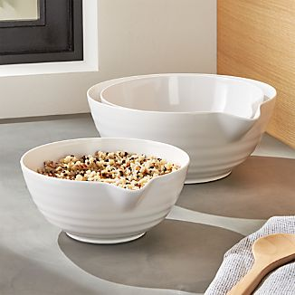 Set of 3 Spouted Bowls
