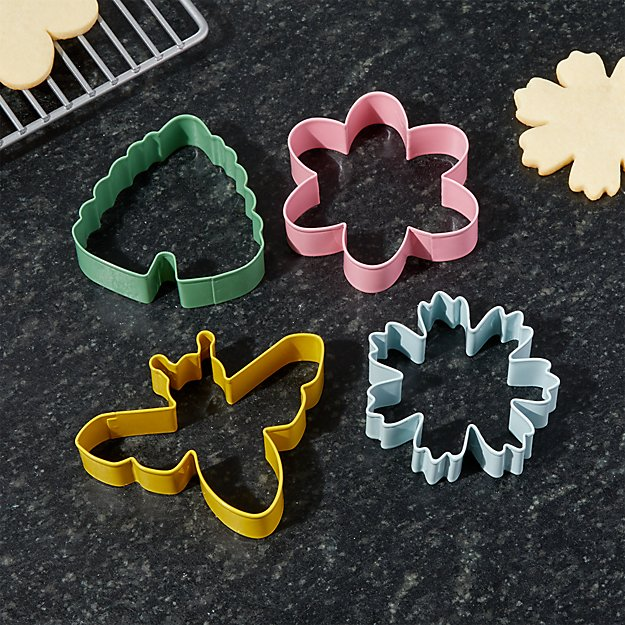 Set of 4 Spring Cookie Cutters + Reviews | Crate and Barrel