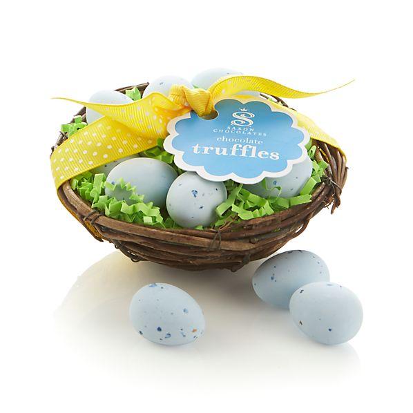 Saxon Chocolates Spring Nest with Truffle Eggs