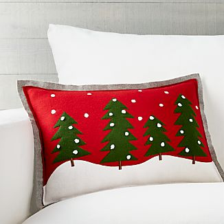 "Spruce 18""x12"" Pillow with Down-Alternative Insert"