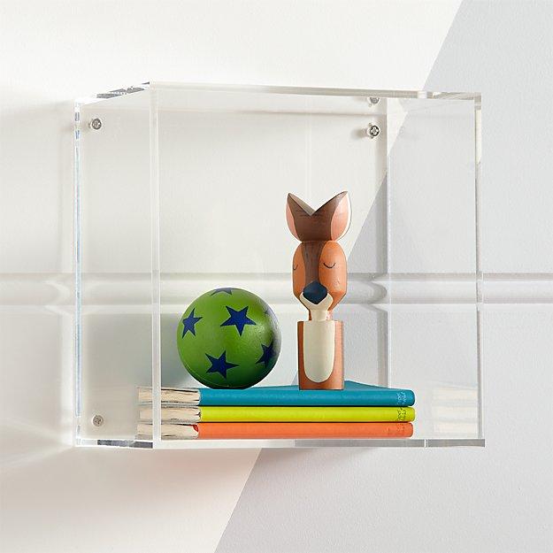 Clear Acrylic Cube Shelf Reviews